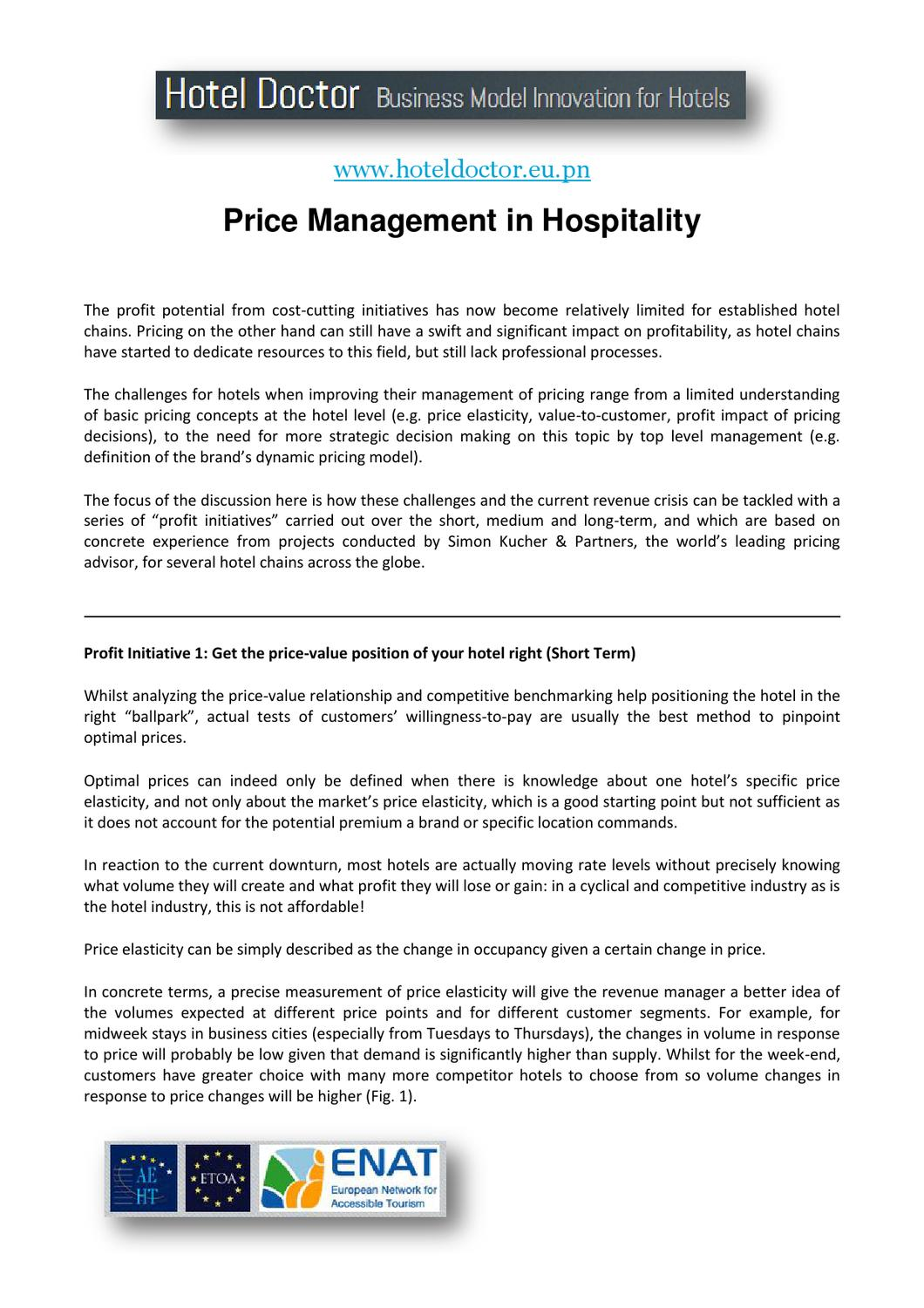 Hotel Price Management - www hoteldoctor eu pn by Daniel