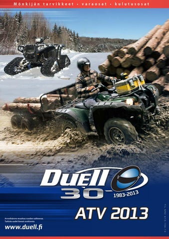 Duell Onroad 2013 by Duell Bike-Center Oy - issuu 56e6168b2e