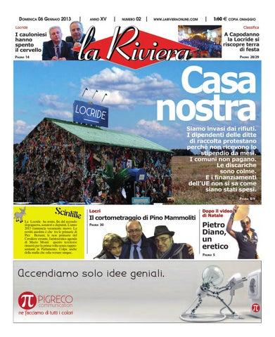 La Riviera N 02 Del 06 01 2013 By Rosario Rosario Issuu