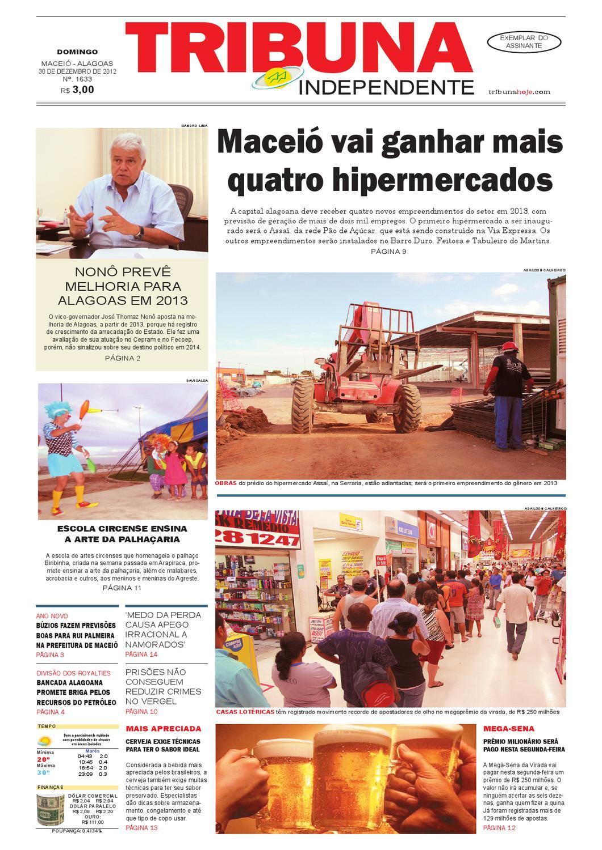 f9f73af79 Edição número 1633 - 30 de dezembro de 2012 by Tribuna Hoje - issuu