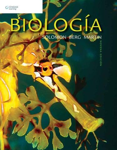 Biología. 9a. Ed. Eldra Solomon, Linda Berg y Diana W. Martin by ...