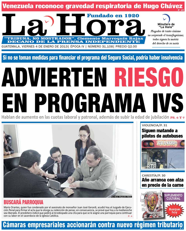 Diario La Hora 04-01-2013 by La Hora - issuu