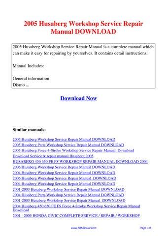 honda cgr125 storm 2005 workshop service repair manual