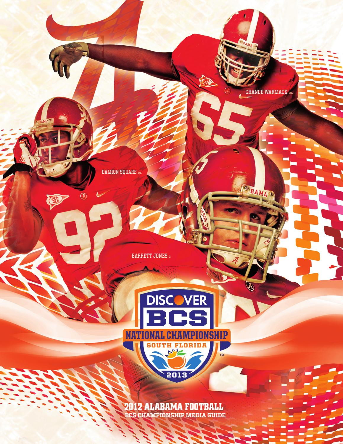 63305884e 2012 BCS National Championship Guide by Alabama Crimson Tide - issuu