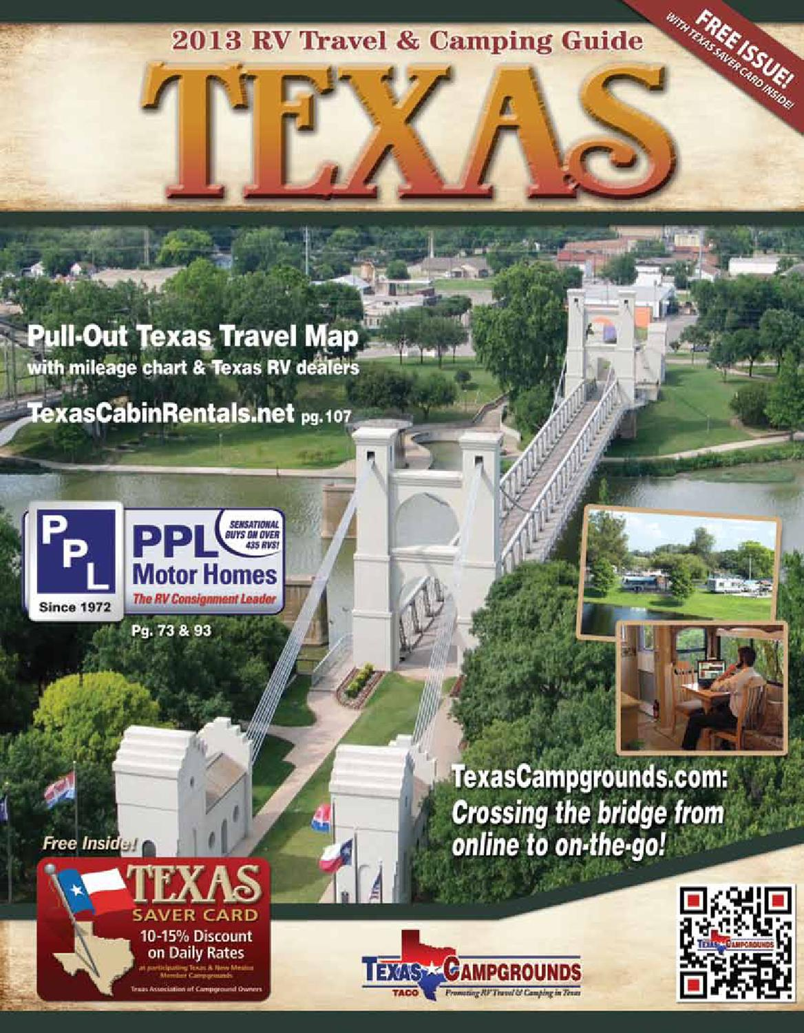 2013 Texas RV Travel Camping Guide By AGS Advertising