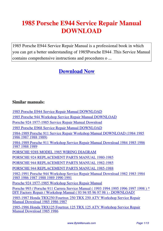 yamaha ytm200 yfm200 ytm225 atv service repair manual 1983 1984 1985 1986 download