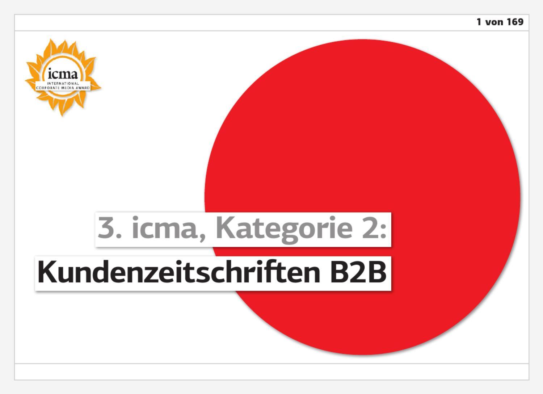 ICMA Buch 3 02 Kundenzeitschriften B2B 1-80 by Norbert Kuepper - issuu