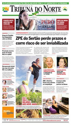 cc14ed2fa3 Tribuna do Norte - 06 01 2013 by Empresa Jornalística Tribuna do ...