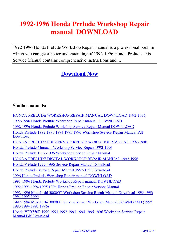 mitsubishi 3000gt 1991 service manual pdf download