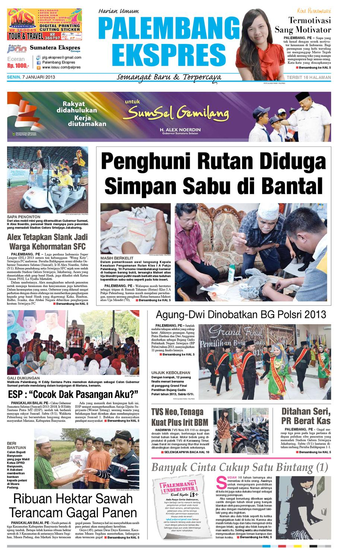 Palembang Ekspres Senin 7619d884a5