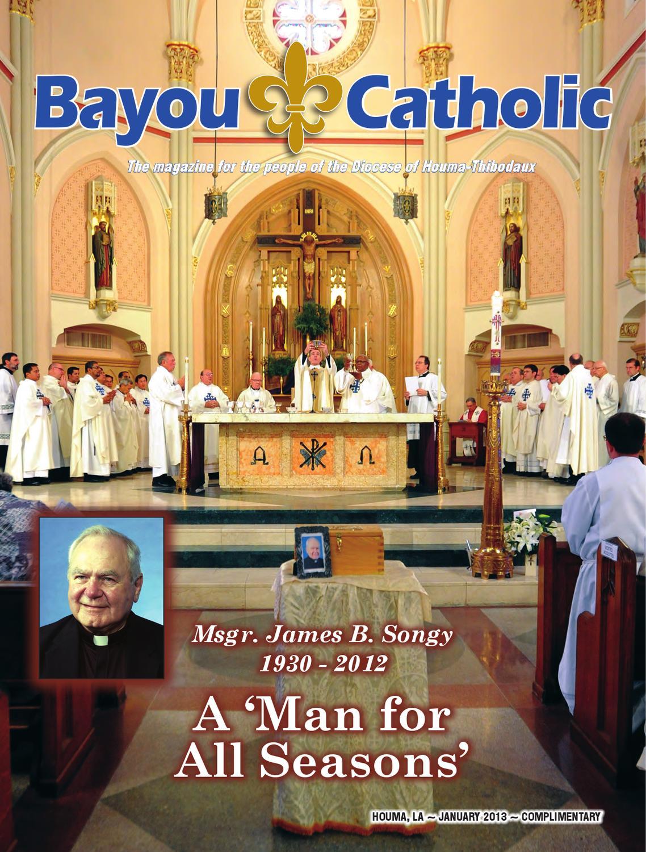 January 2013 Bayou Catholic Issue By Diocese Of Houma