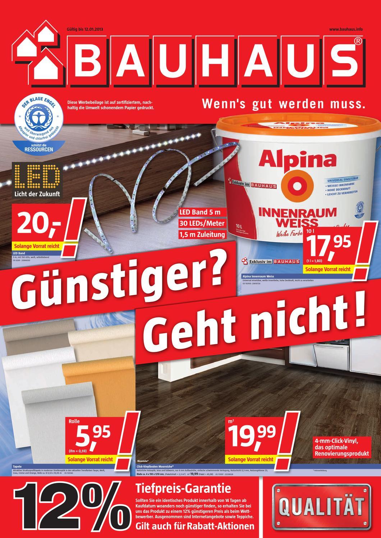 Bauhaus Angebote 1 12 Januar 2013 By PromoProspekte.de   Issuu