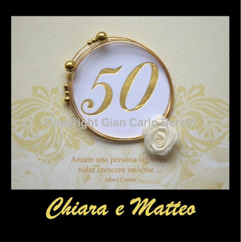 Chiara E Matteo Anniversario 50 Anni Di Matrimonio By Gian Carlo