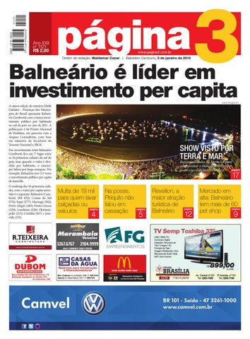 c111a18ddf Ano XXII no 1121 R$ 2,00 Diretor de redação: Waldemar Cezar | Balneário  Camboriú, 5 de janeiro de 2013