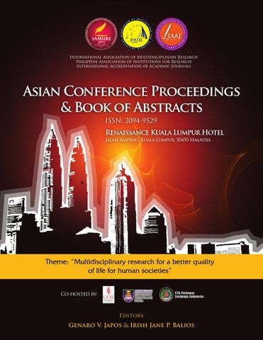 Asian Conference 2012 by IAMURE Multidisciplinary Research - issuu