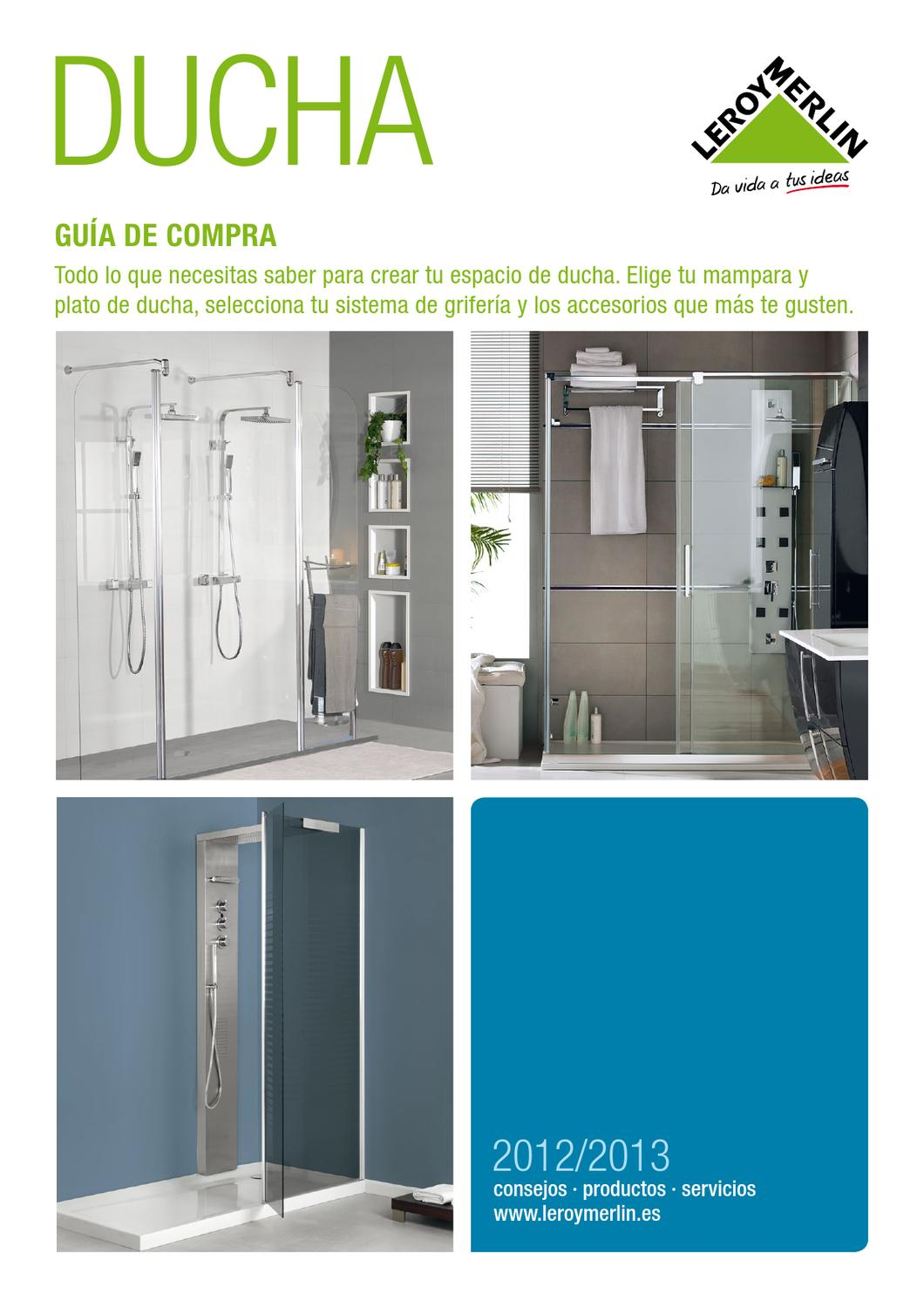 Leroy Merlin Catalogo de duchas 2013 by Hackos ECC - issuu