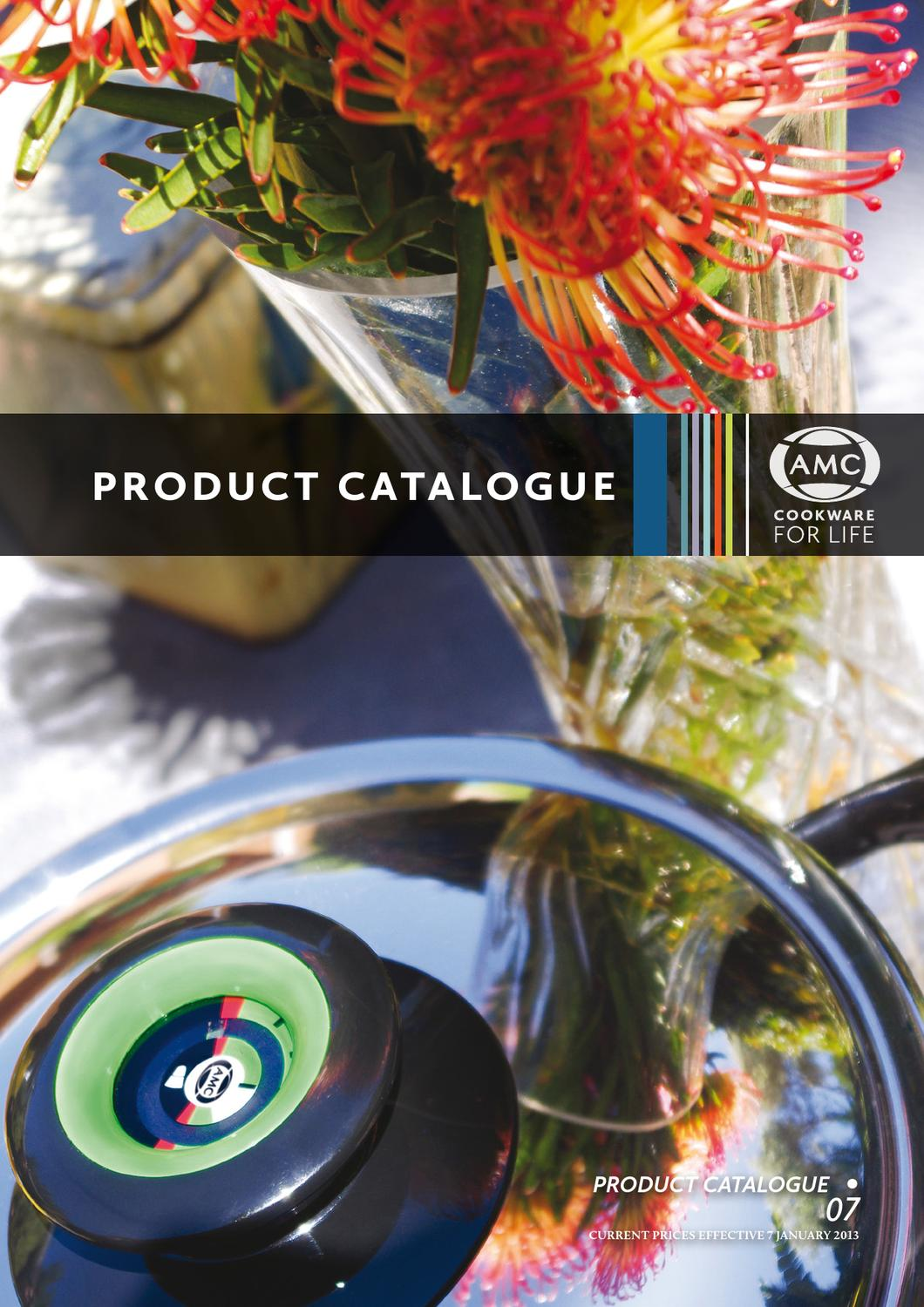 2013 AMC Product Catalogue • 07 by AMC Cookware - issuu