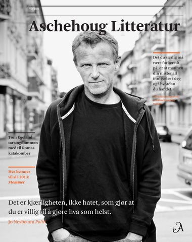 8246be6a Aschehoug Litteratur vår 2013 by Aschehoug - issuu