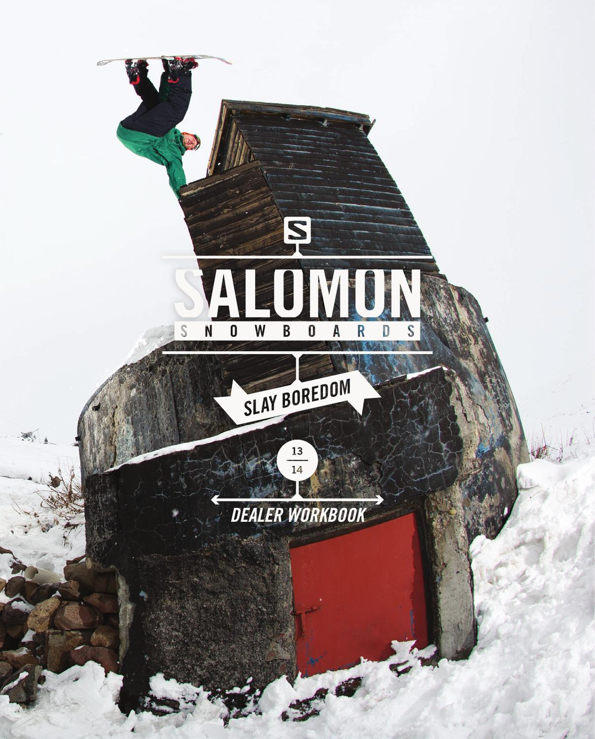 SALOMON SNOWBOARD 20132014 by Salomon issuu
