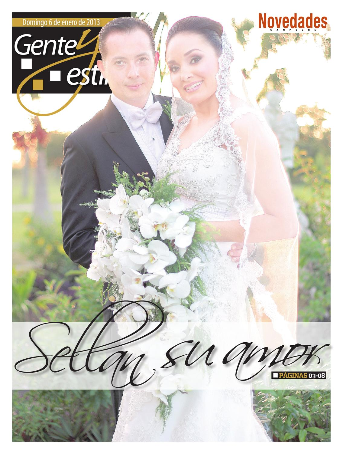 Gye 06 enero 2013 by novedades campeche issuu for Karina paredes pacheco