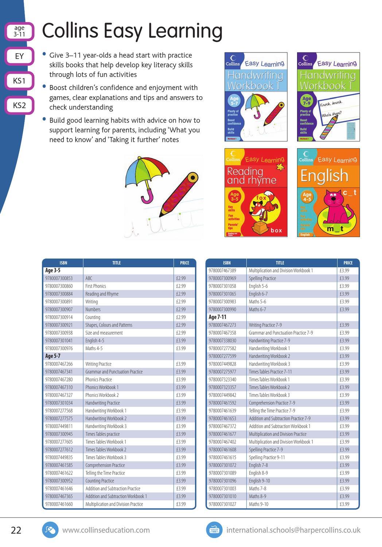 Workbooks grammar and punctuation workbook : International Primary Catalogue by Collins - issuu