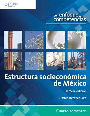 Estructura Socioeconómica De México Con Enfoque En