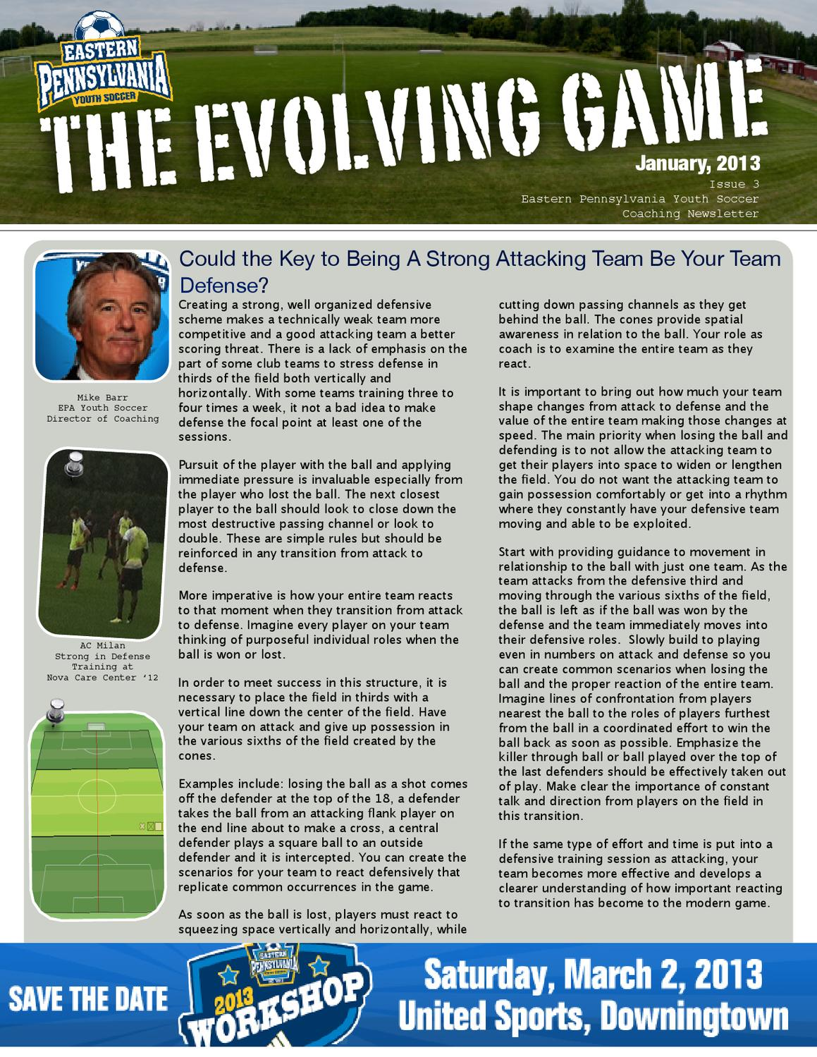 The Evolving Game | January 2013 by Eastern Pennsylvania