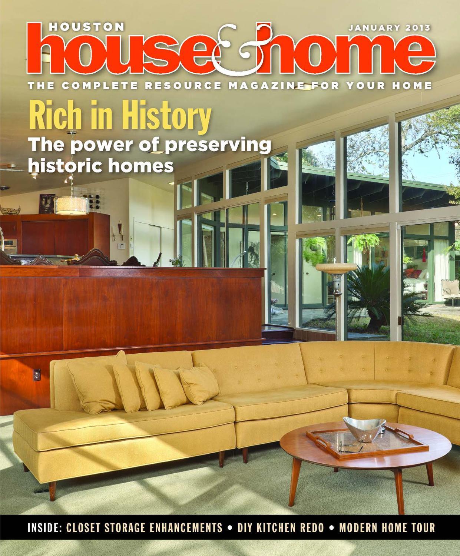 houston house & home magazine january 2013 issuehouston house