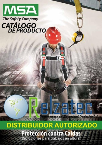 8651e59dc6 2017 MSA Catalogo General Equipo Seguridad by Industrial de Equipos de  Tampico, S.A. de C.V. - issuu