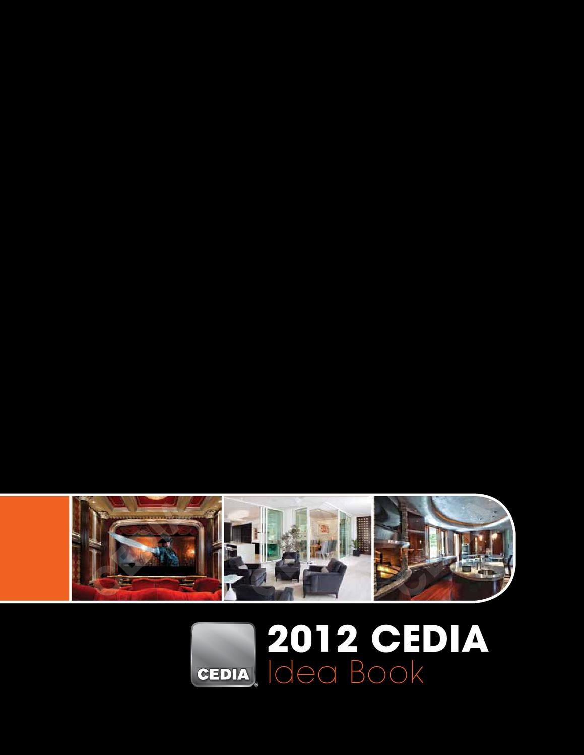 Cedia 2012 Idea Book By Elytronic Issuu Crestron Cls C6 Wiring Diagram