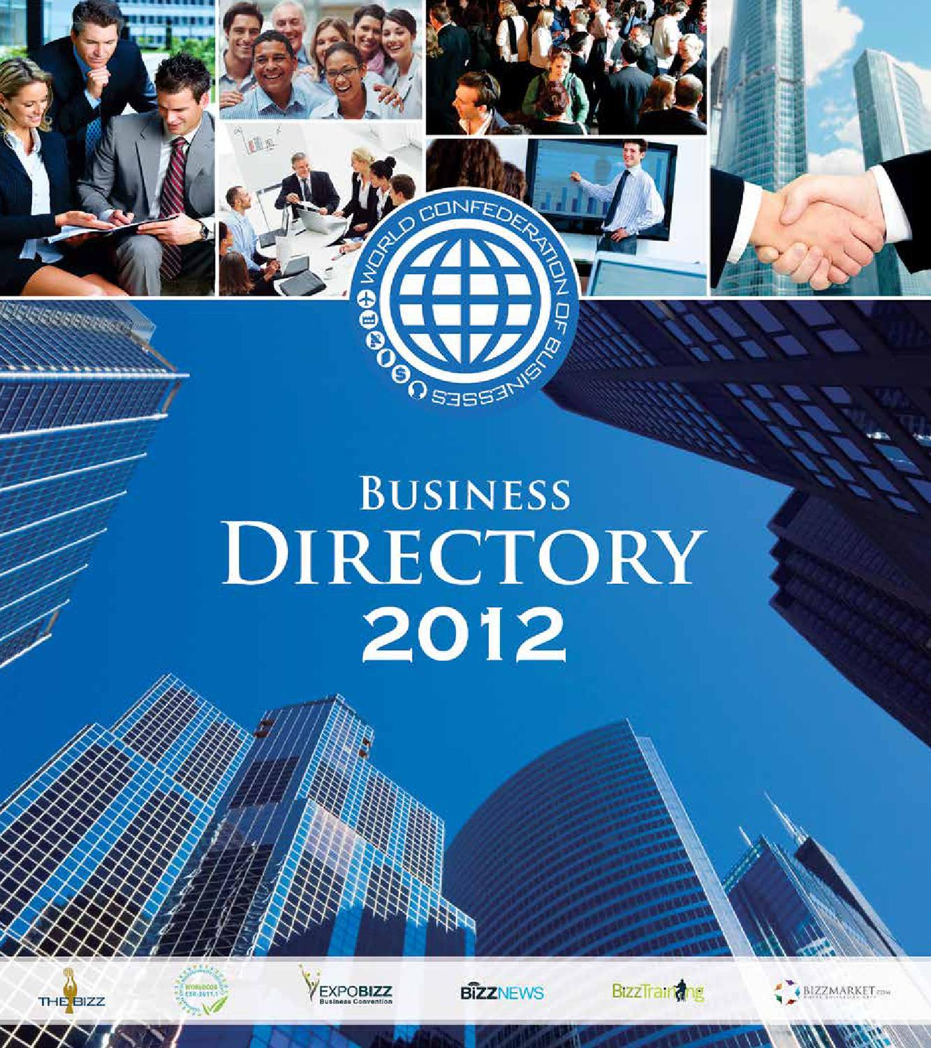 BUSINESS DIRECTORY 2012 by World Confederation of Businesses - issuu