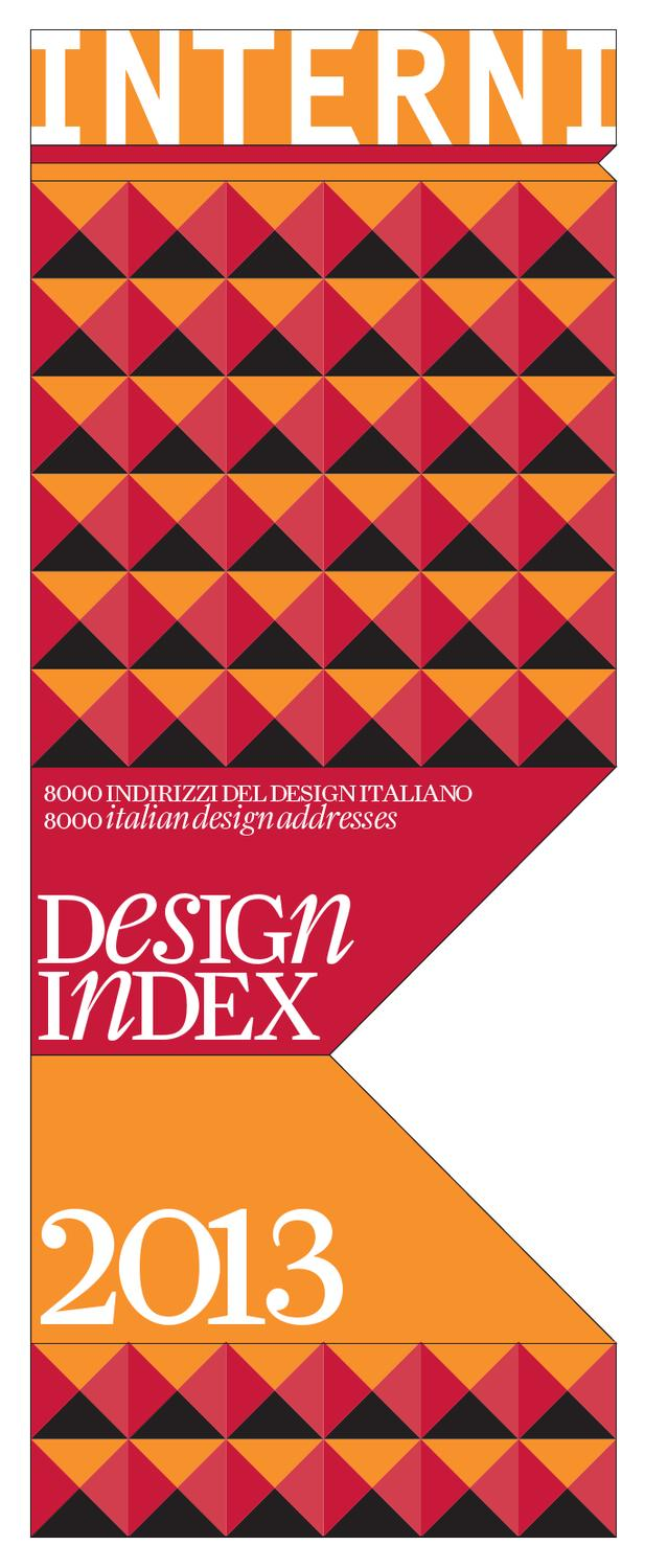 design index 2013 by interni magazine - issuu - Bonato Arredo Bagno Castelfranco
