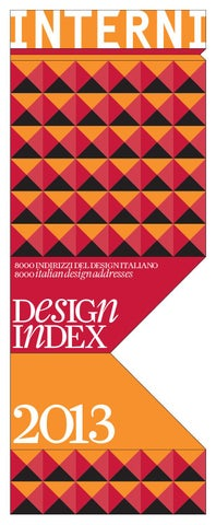 87fe0bcc4e6f Design Index 2013 by Interni Magazine - issuu