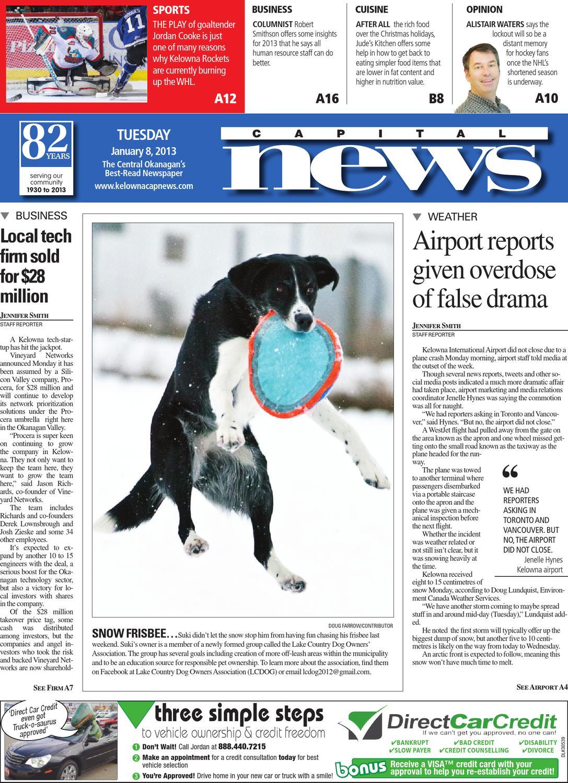 Kelowna Capital News, January 08, 2013 by Black Press - issuu