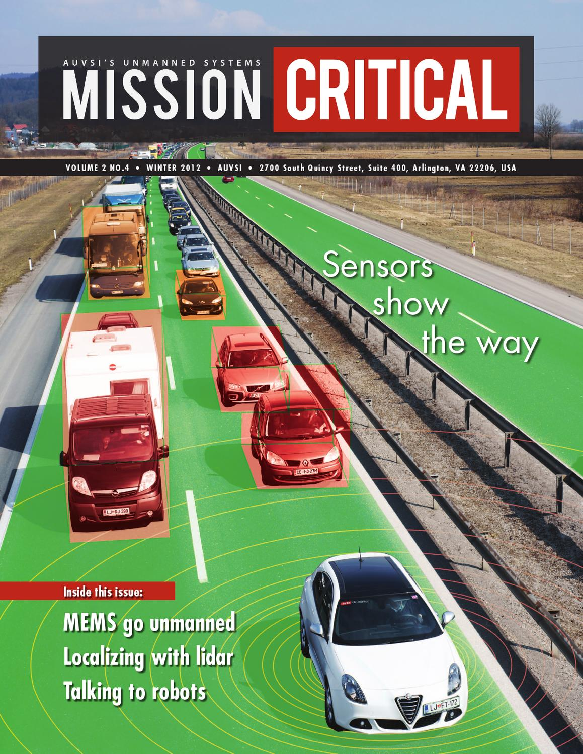 Mission Critical: Sensors by Association for Unmanned
