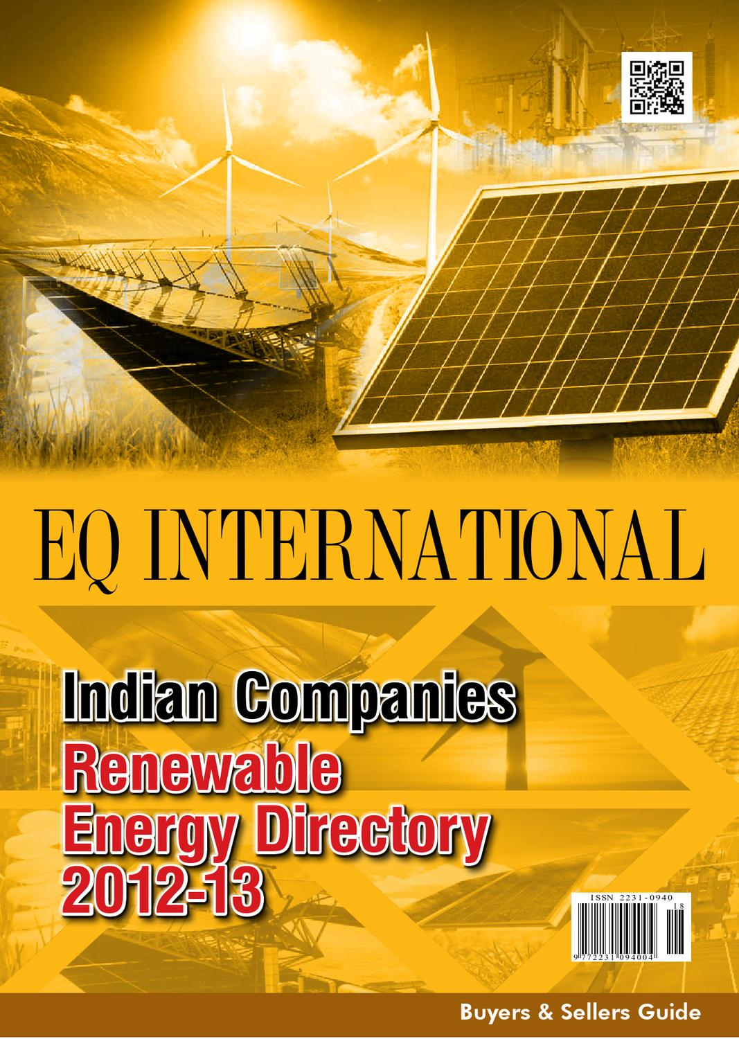 Eq Re Buyers Sellers Guide 2012 13 By Intl Solar Media Group Powertronixinductor1jpg Issuu