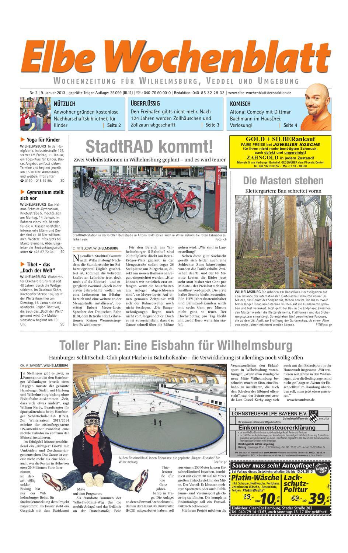 Wilhelmsburg KW02-2013 by Elbe Wochenblatt Verlagsgesellschaft mbH & Co.KG  - issuu