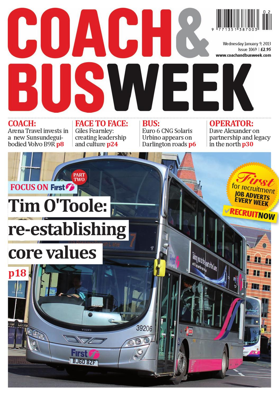 Coach & Bus Week : Issue 1069 by Coach and Bus Week & Group Travel ...