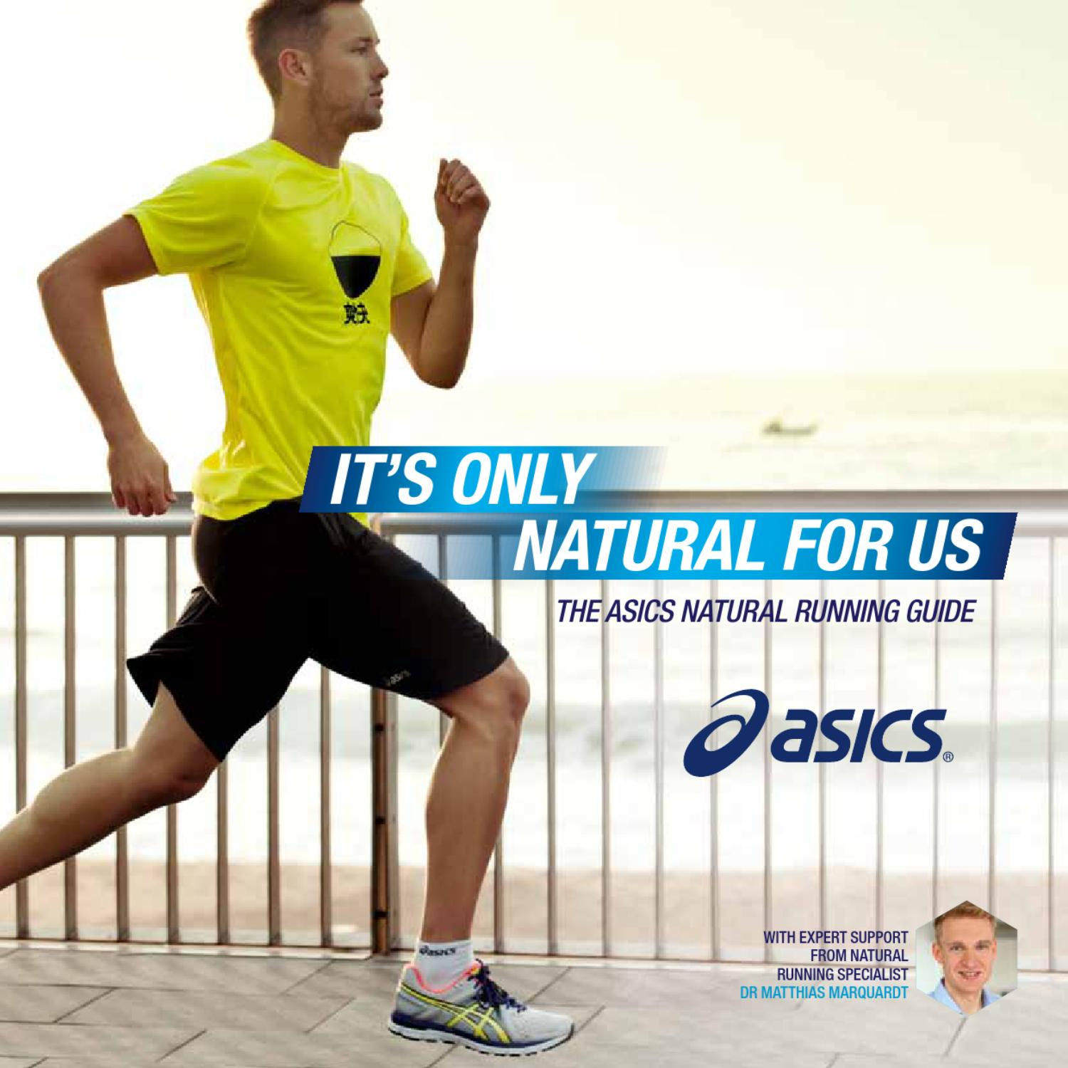 ASICS Natural Running Guide by ASICS