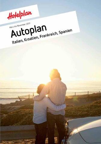 Autoplan Italien Kroatien Frankreich Spanien Marz Bis November 2013