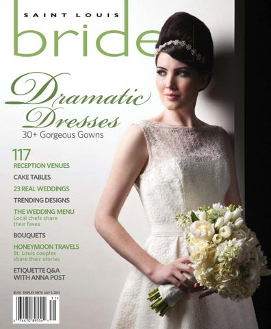 8cc125bf927 St. Louis Bride Spring  Summer 2013 by Morris Media Network - issuu