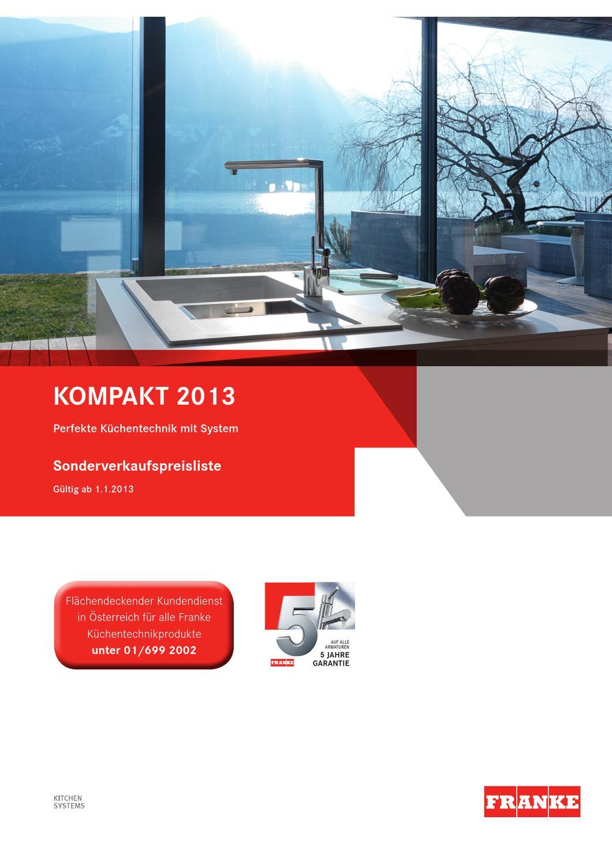 franke katalog by roland annerl issuu. Black Bedroom Furniture Sets. Home Design Ideas