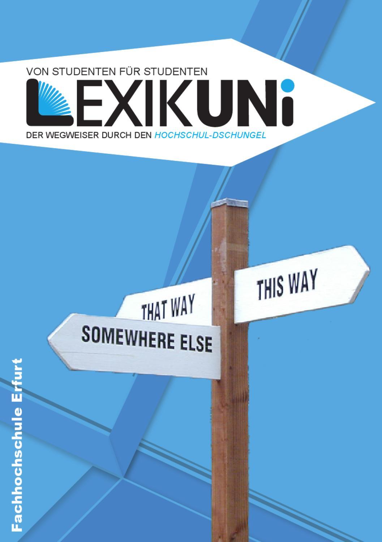 Lexikuni WS 2012-13 FH Erfurt by trim media - issuu