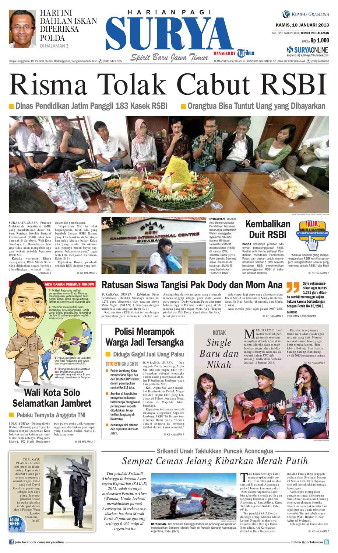 E-paper Surya Edisi 10 Januari 2013 by Harian SURYA - issuu dd0ac8c11f