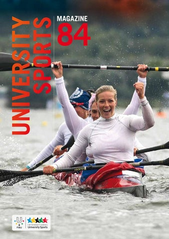 University Sports Magazine #84 by EUSA - European University