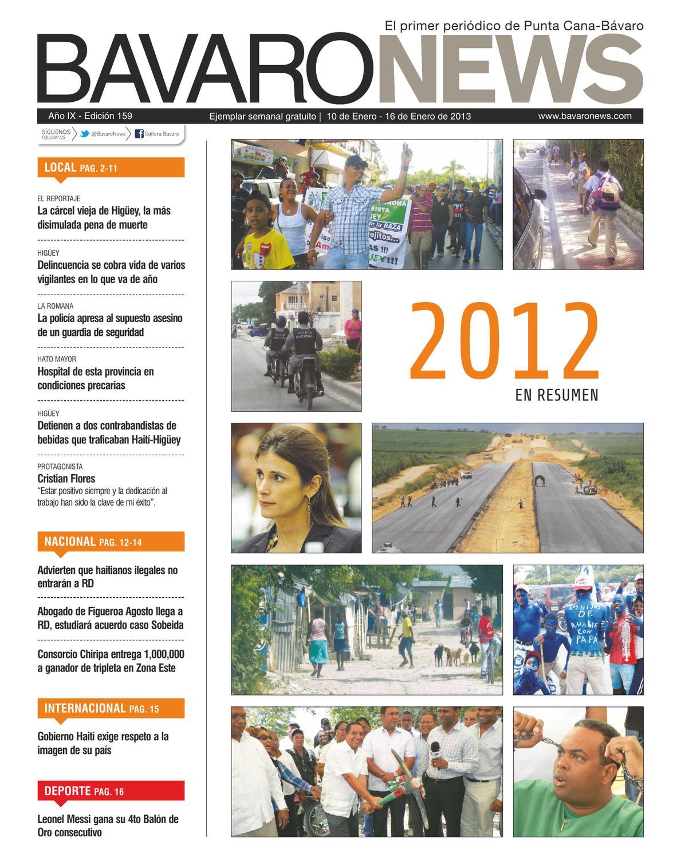 B Varo News Ejemplar Semanal Gratuito Semana Del 16 Al 16 De  # Jansen Muebles Bavaro