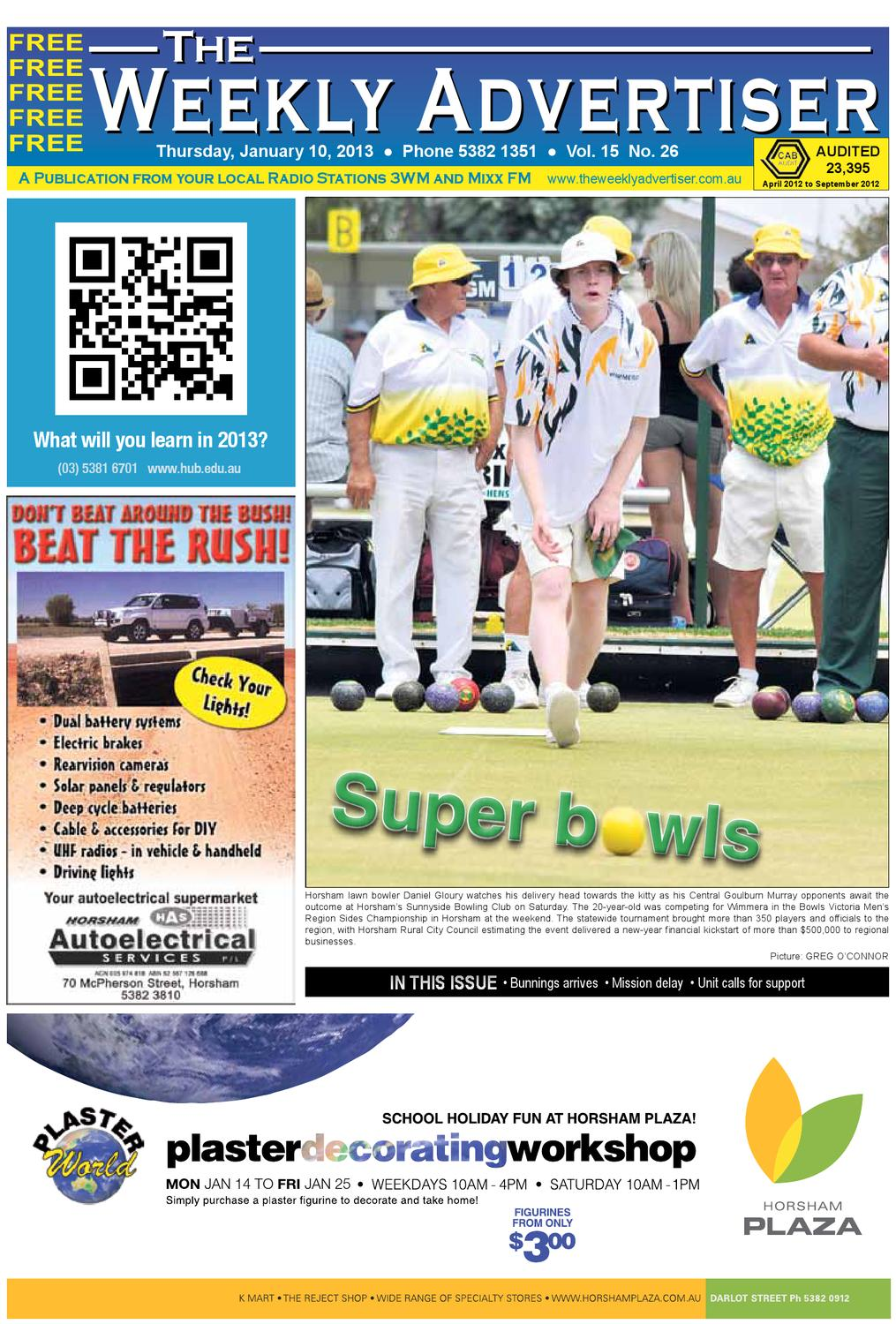 The Weekly Advertiser - Thursday, January 10, ...
