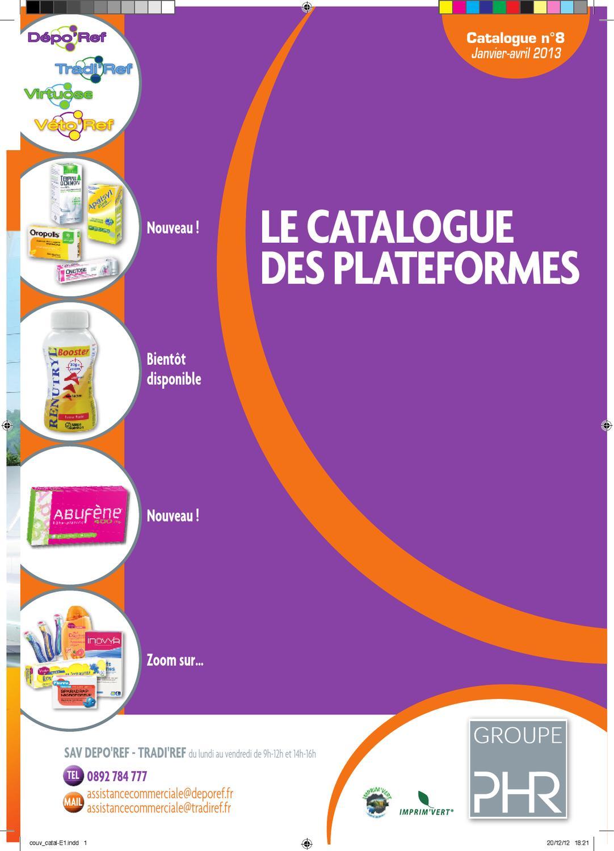 Catalogue produit Janvier 2013 by Groupe PHR - issuu