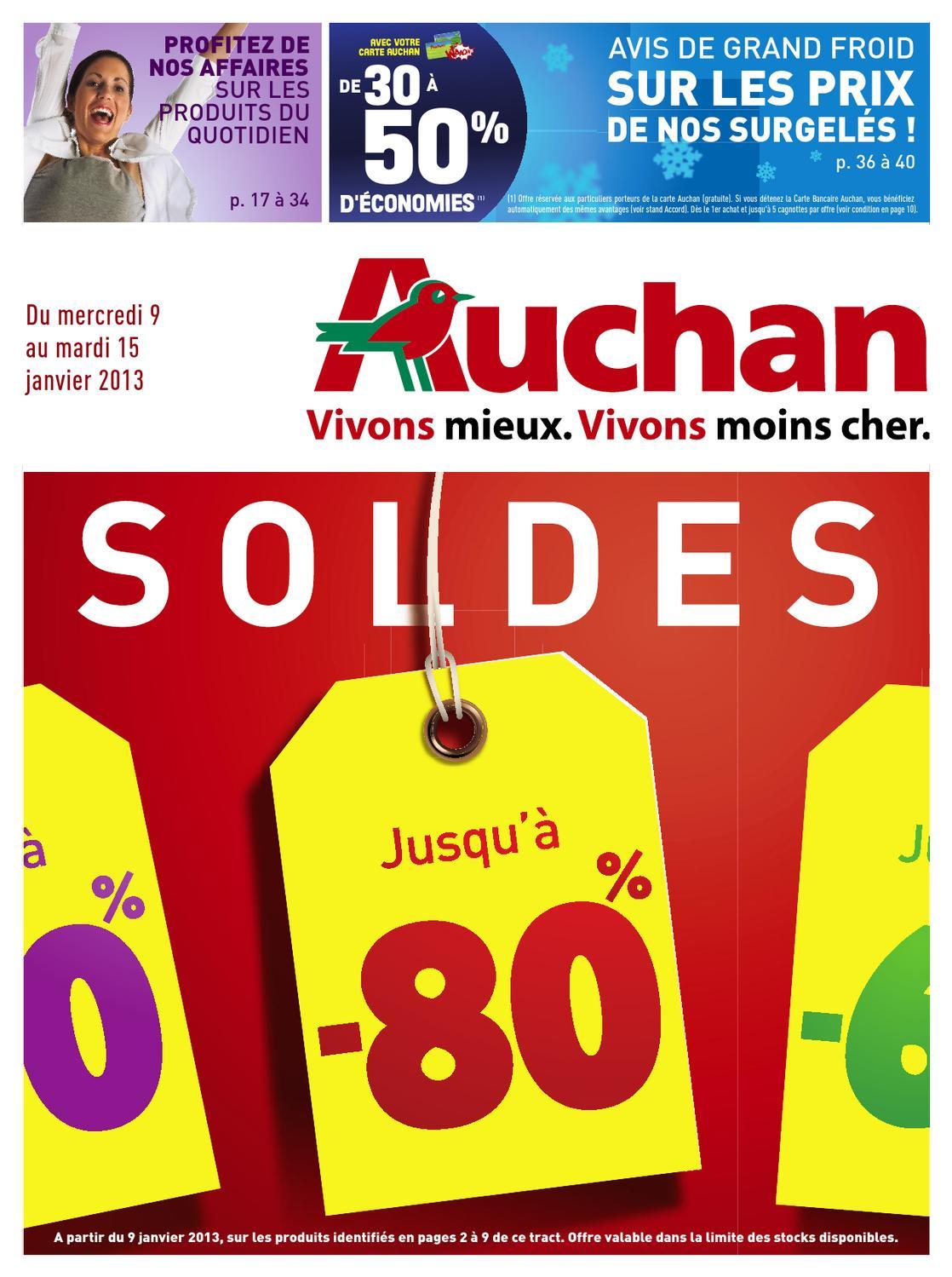 Auchan Catalogue 9 15 Janvier 2013 By Promocataloguescom