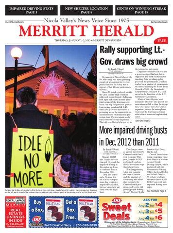 Merritt herald january 10 2013 by black press issuu page 1 fandeluxe Choice Image